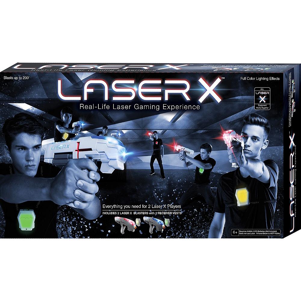 Laser X Laser Tag Blaster Gaming Set Image #1