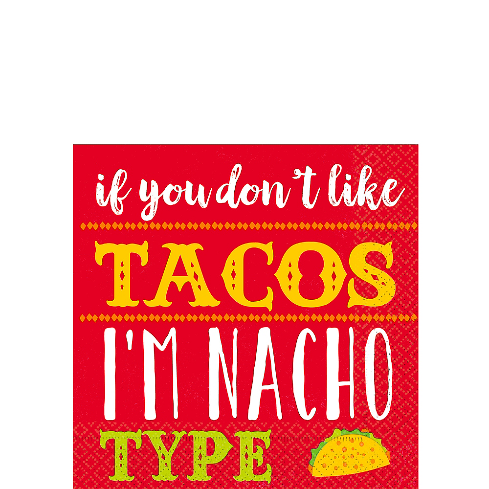 I'm Nacho Type Beverage Napkins 16ct Image #1