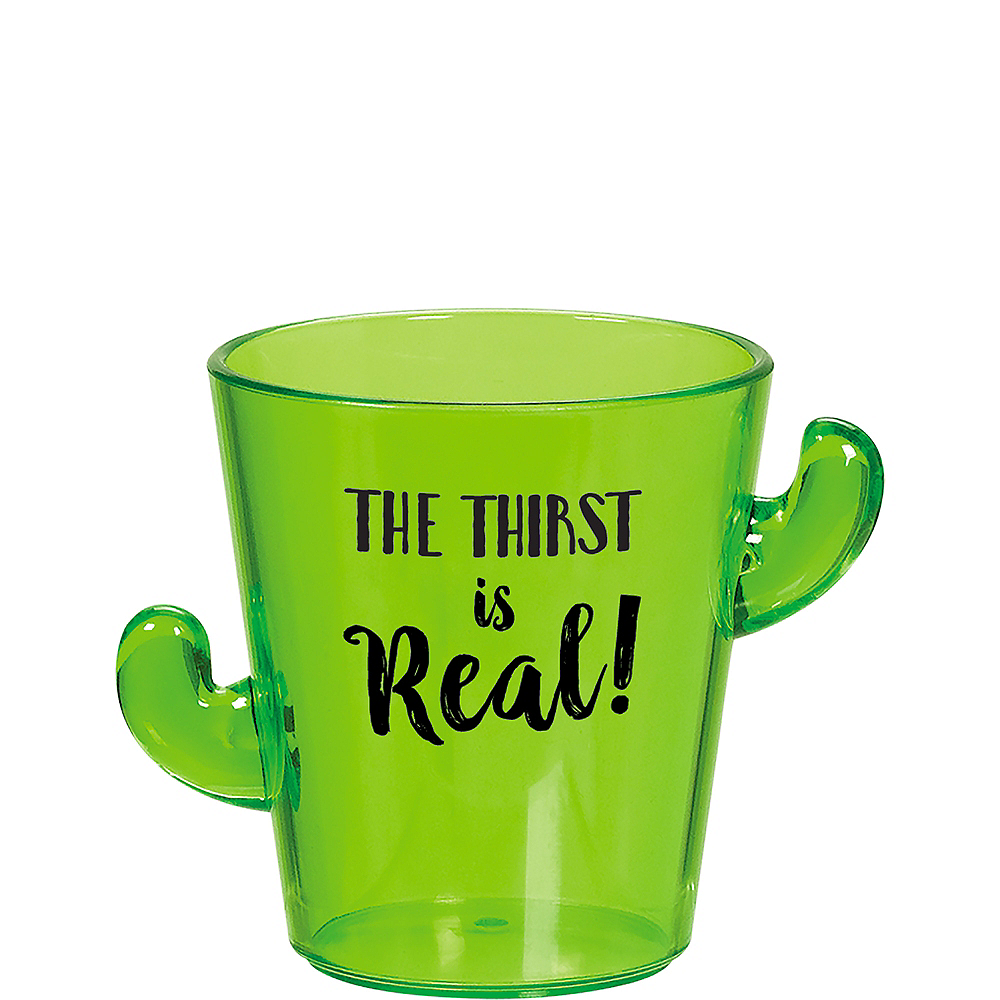 Thirst Is Real Cactus Shot Glass Image #1