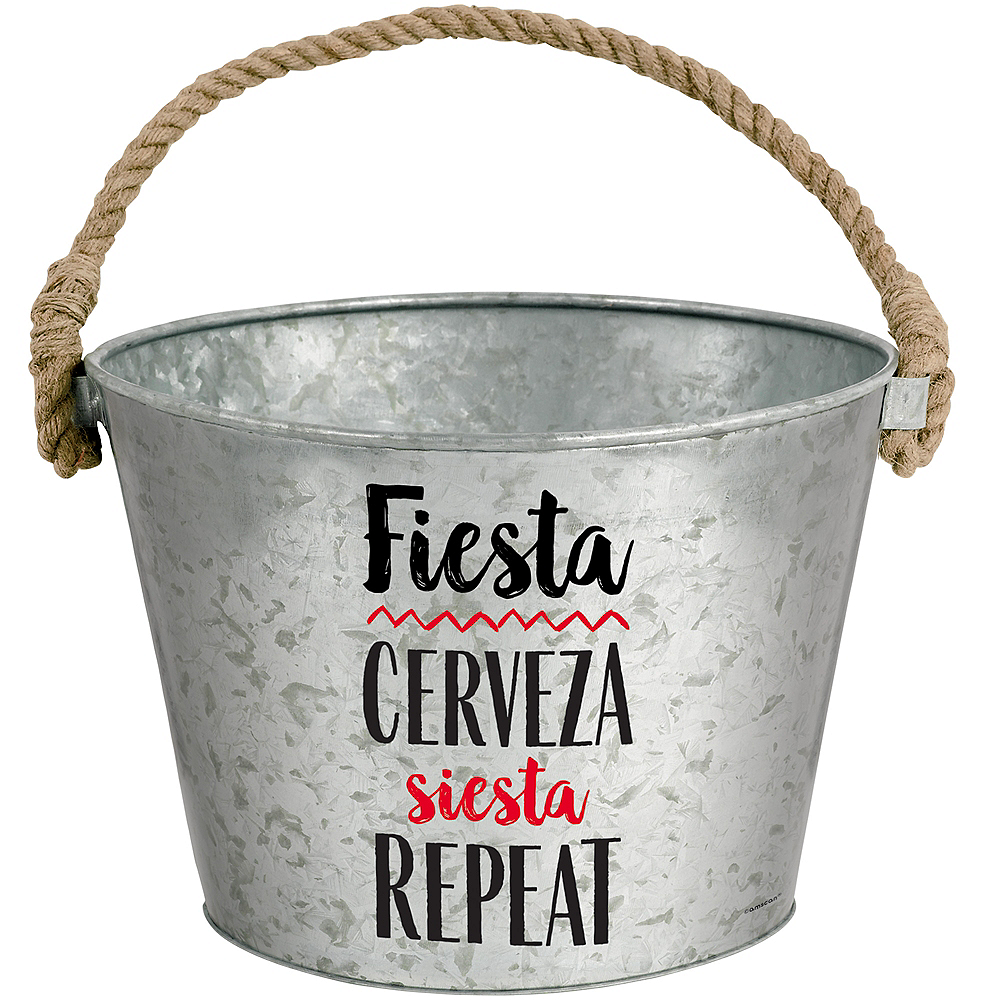 Nav Item for Fiesta Galvanized Bucket Image #1