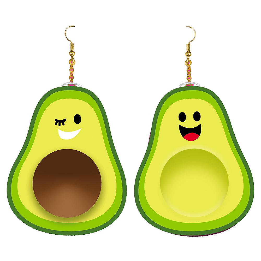 Avocado Earrings Image #1