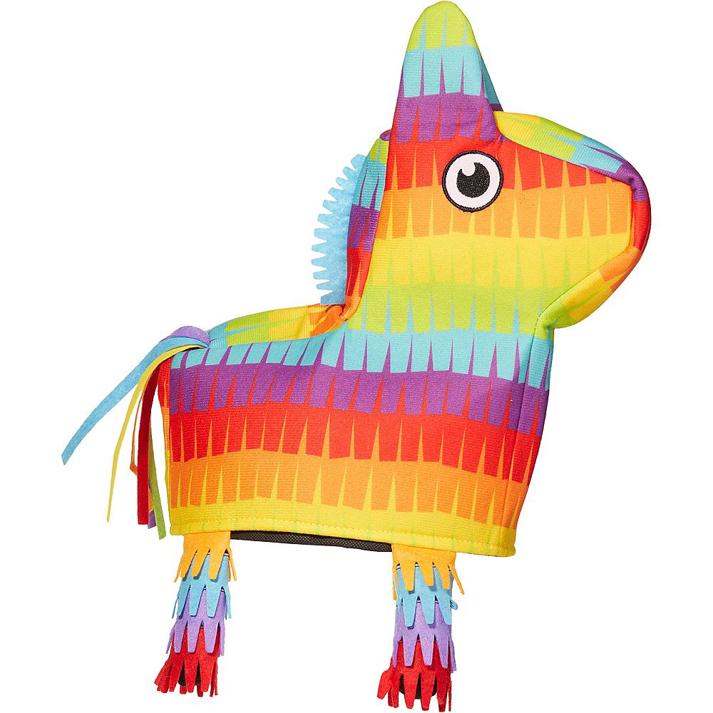 Rainbow Donkey Pinata Hat Image #1