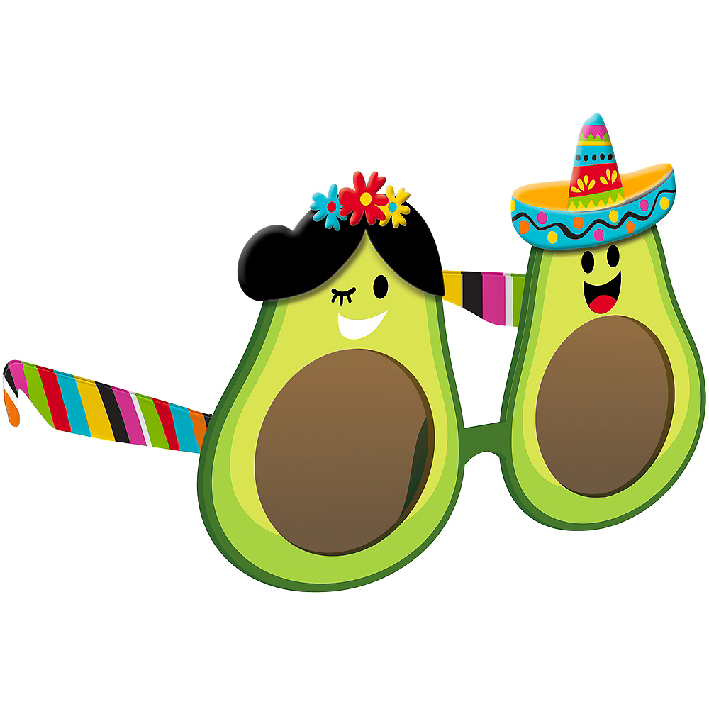 Cinco de Mayo Avocado Sunglasses Image #1