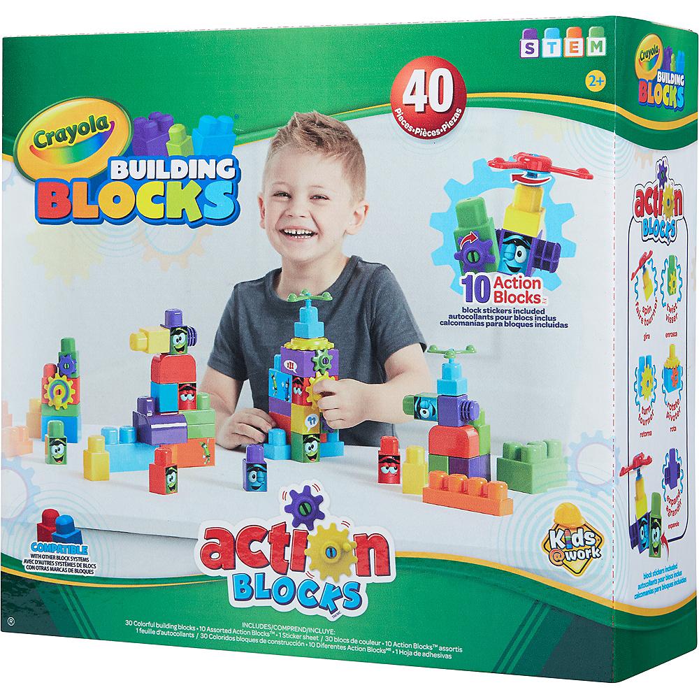 Crayola Action Blocks Set 40pc Image #3