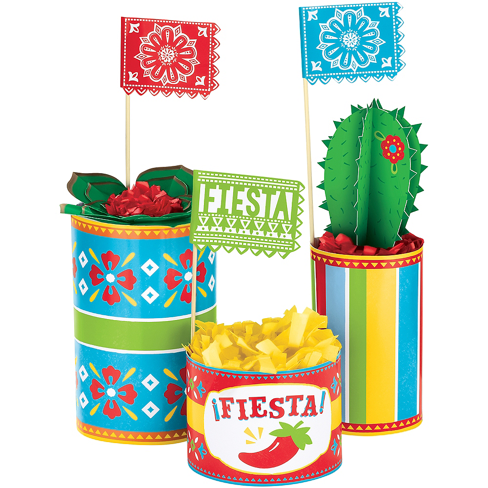 Fiesta Time Centerpiece Kit 3pc Image #1