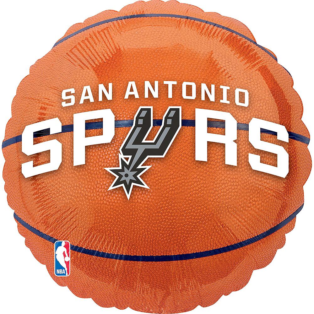 Foil San Antonio Spurs Balloon Image #1
