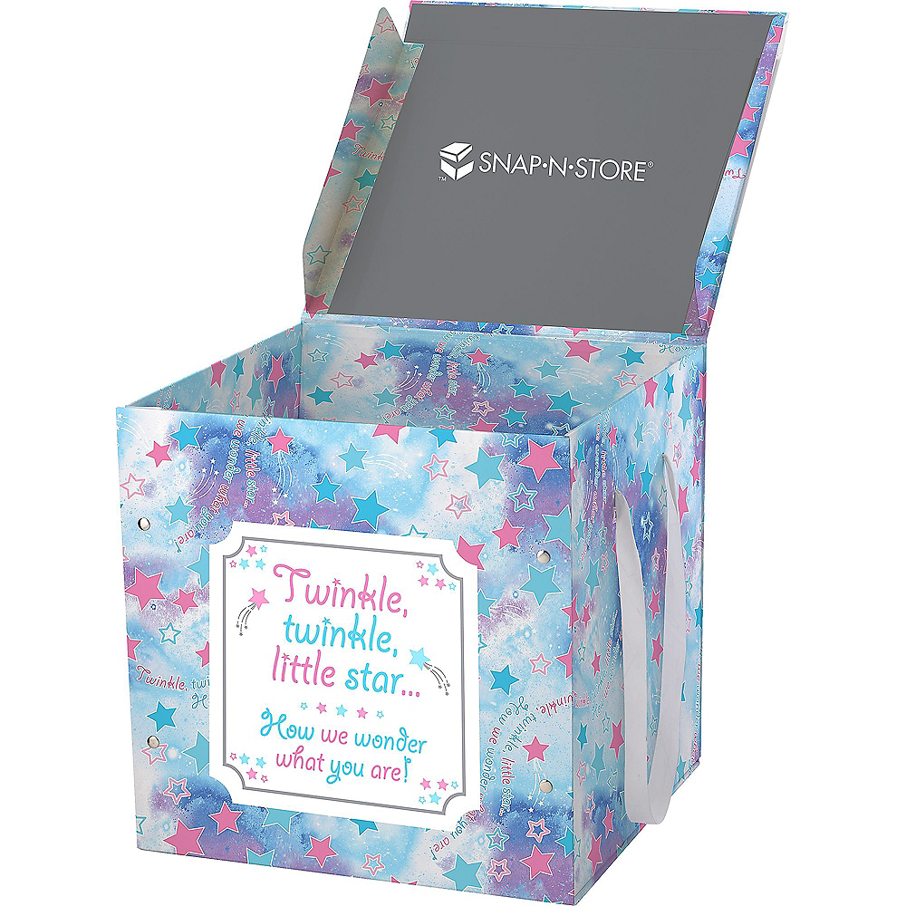 Large Le Gender Reveal Box
