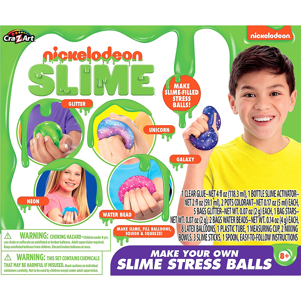 Stress Ball Nickelodeon Slime Kit Image #1