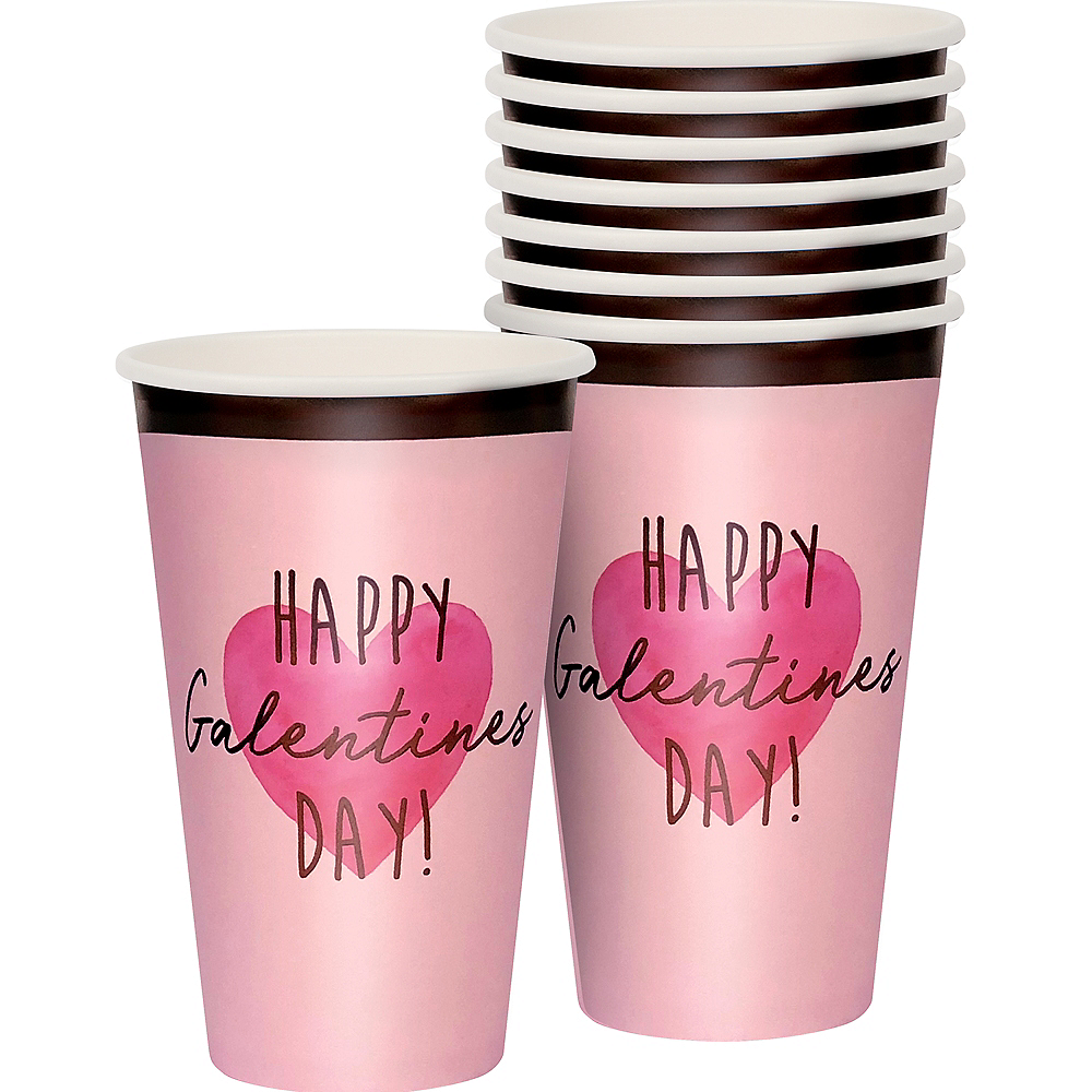 Galentine's Day Cups 12ct Image #1