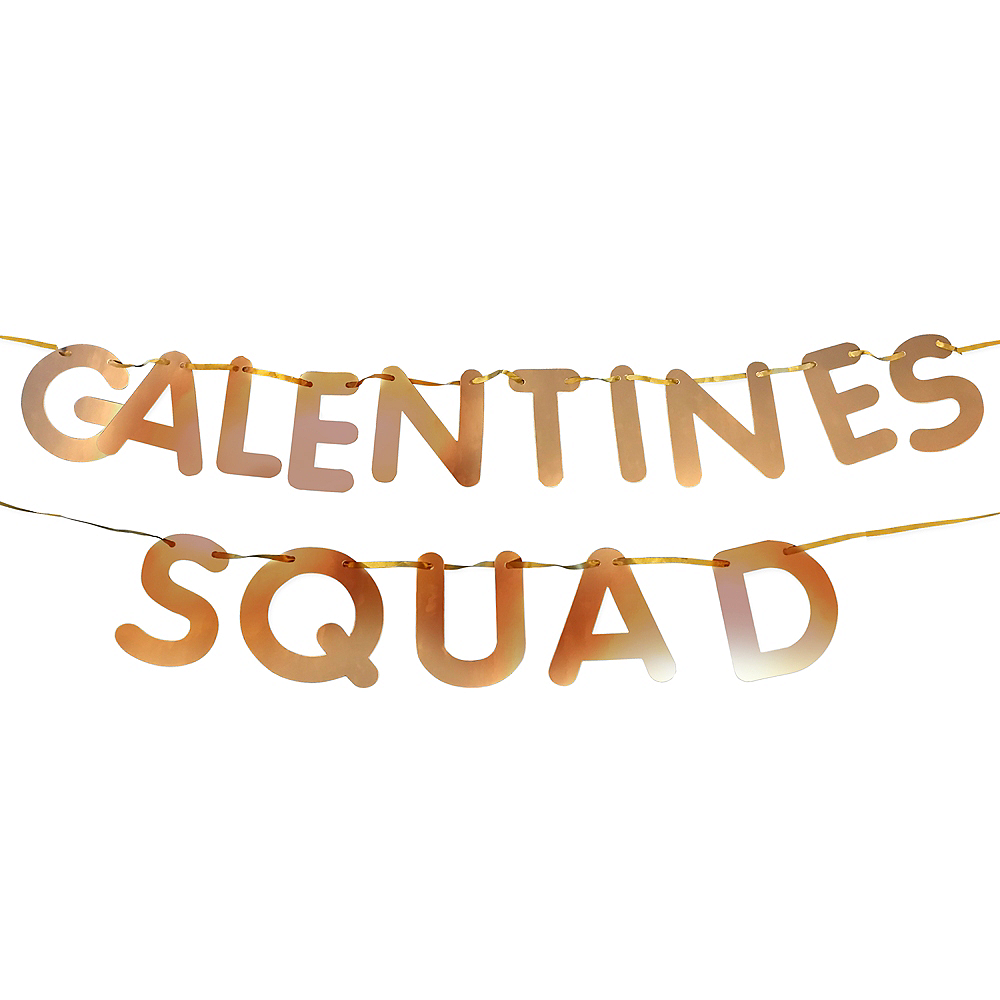 Galentine's Squad Letter Banners 2ct Image #1
