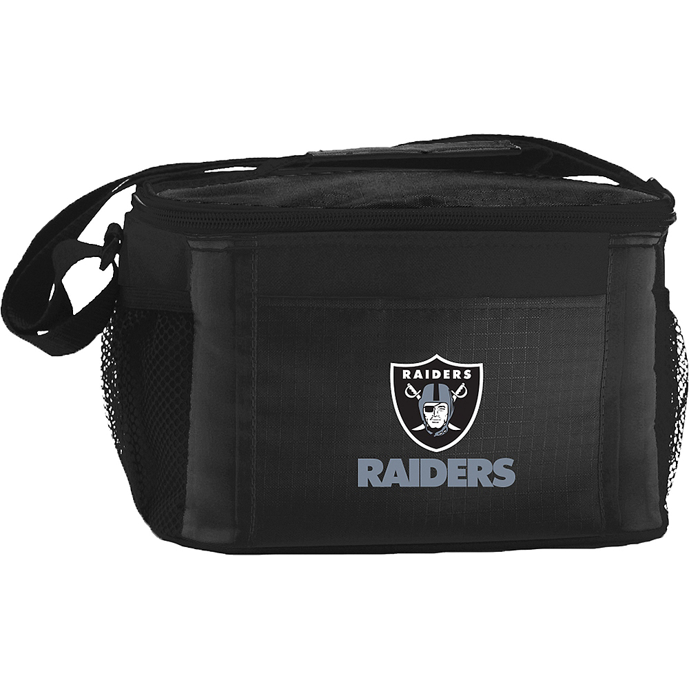 Oakland Raiders 6-Pack Cooler Bag Image #1