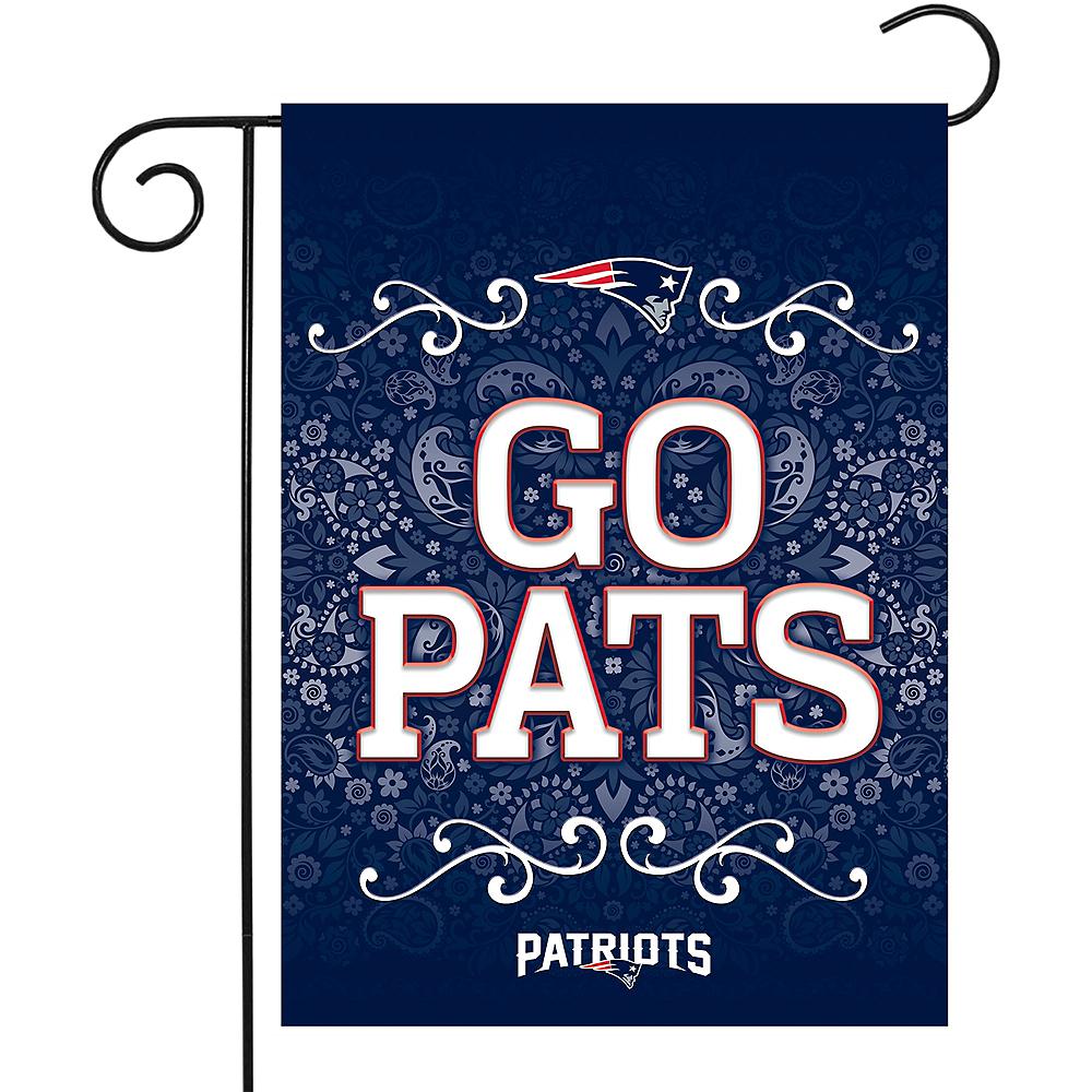 New England Patriots Garden Flag Image #1