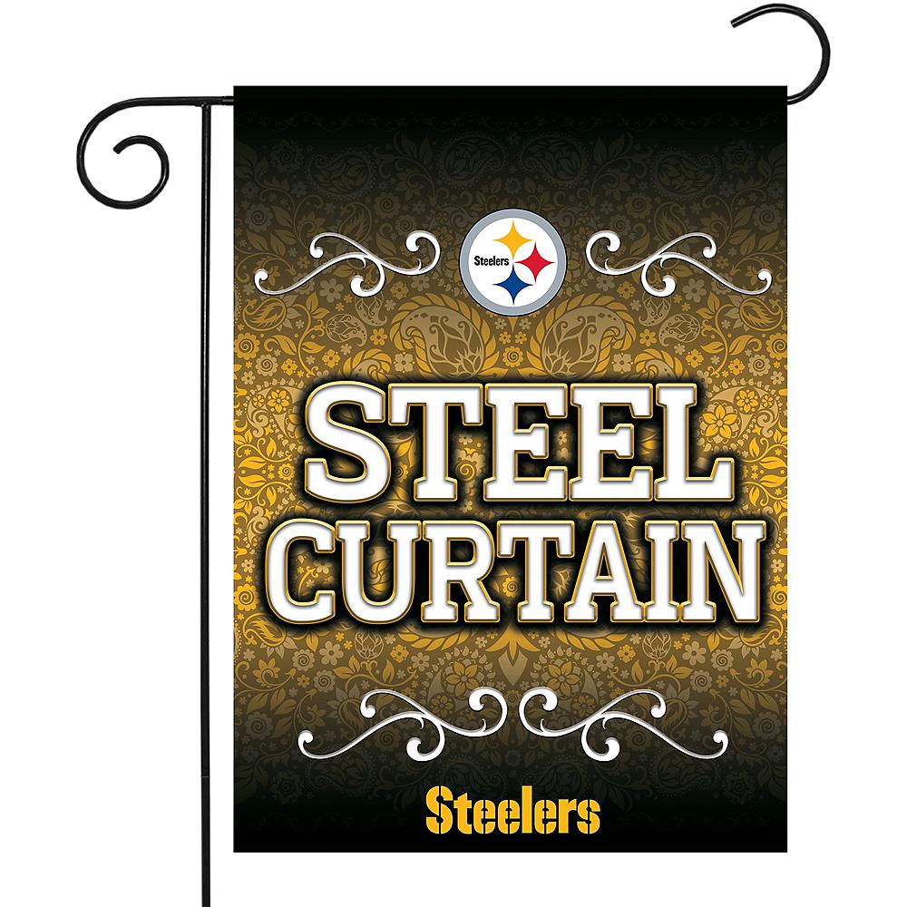 Pittsburgh Steelers Garden Flag Image #1