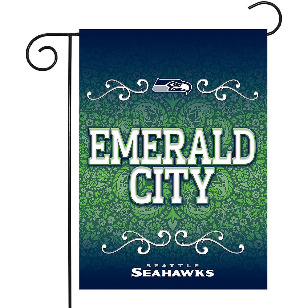 Seattle Seahawks Garden Flag Image #1
