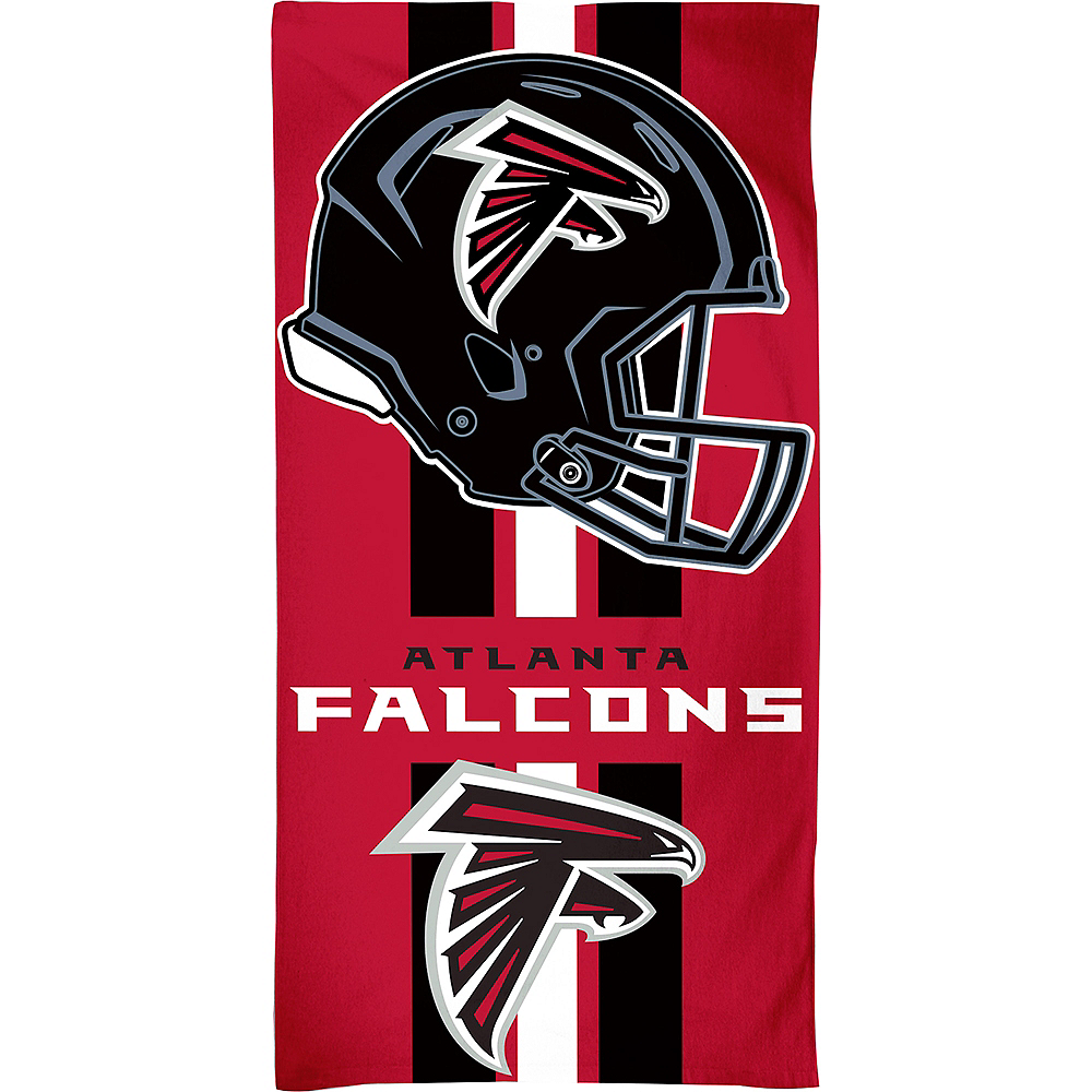 Atlanta Falcons Beach Towel Image #1