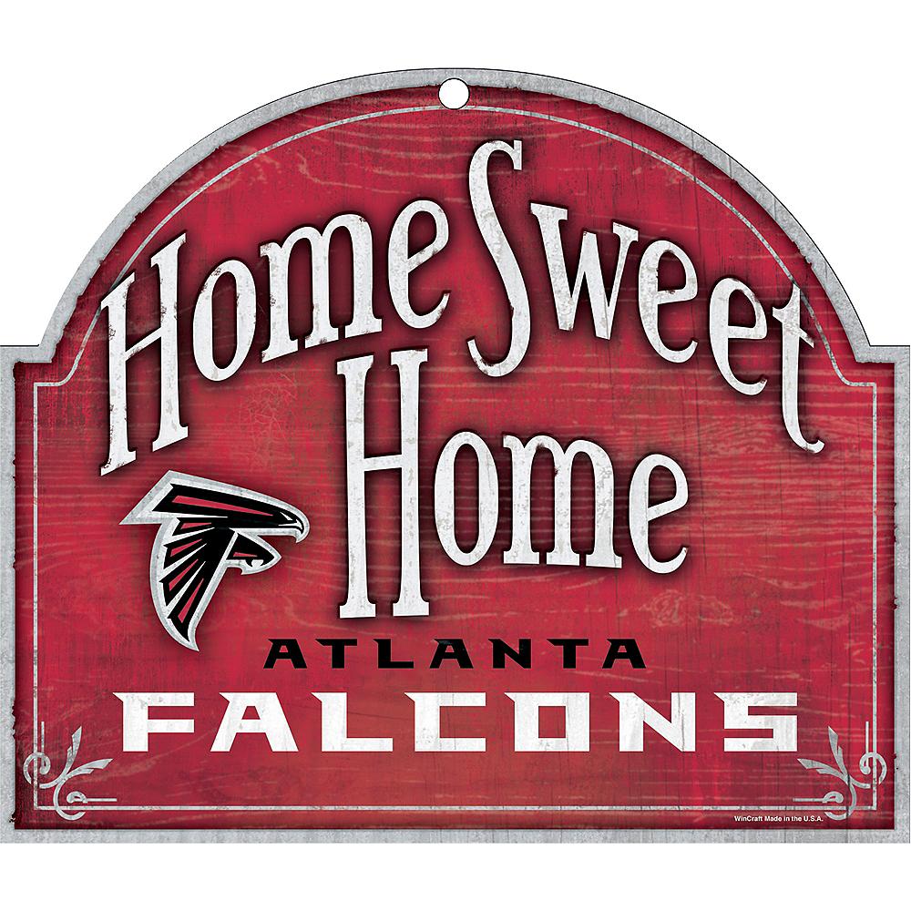 Atlanta Falcons Wooden Sign Image #1
