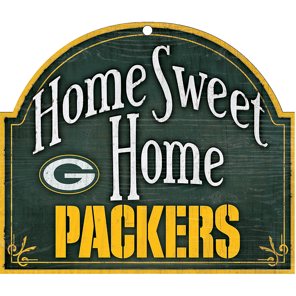 Green Bay Packers Wooden Sign Image #1