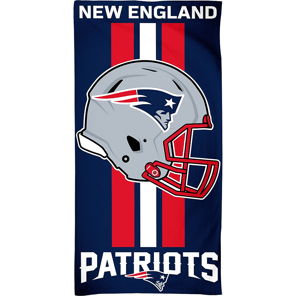 New England Patriots Beach Towel Image #1