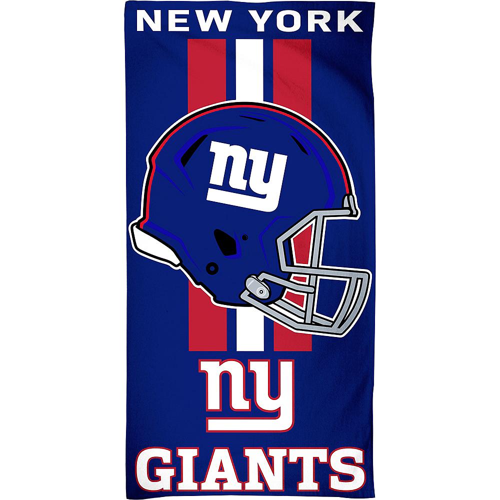 New York Giants Beach Towel Image #1