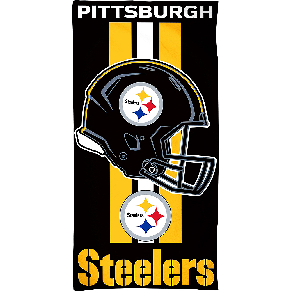 Pittsburgh Steelers Beach Towel Image #1