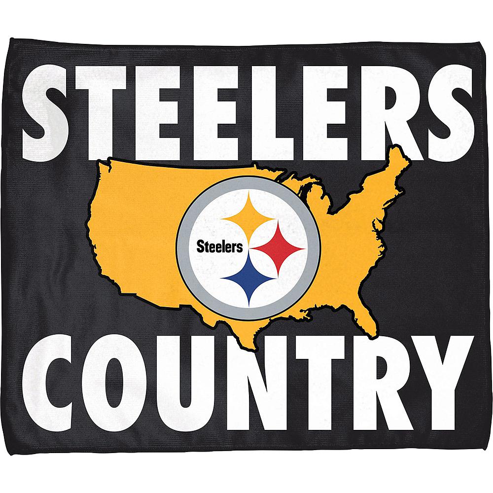 Pittsburgh Steelers Rally Towel Image #1
