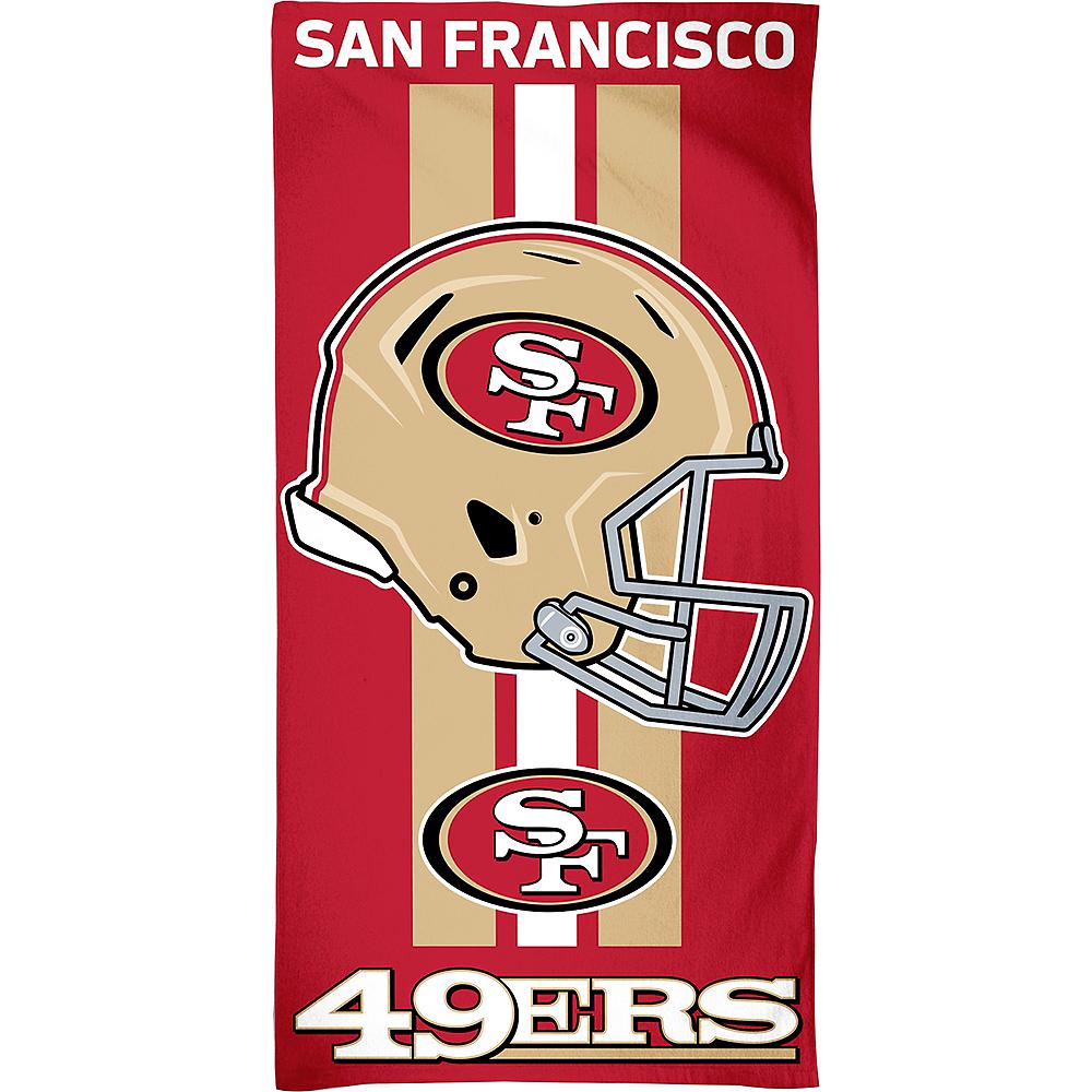 San Francisco 49ers Beach Towel Image #1