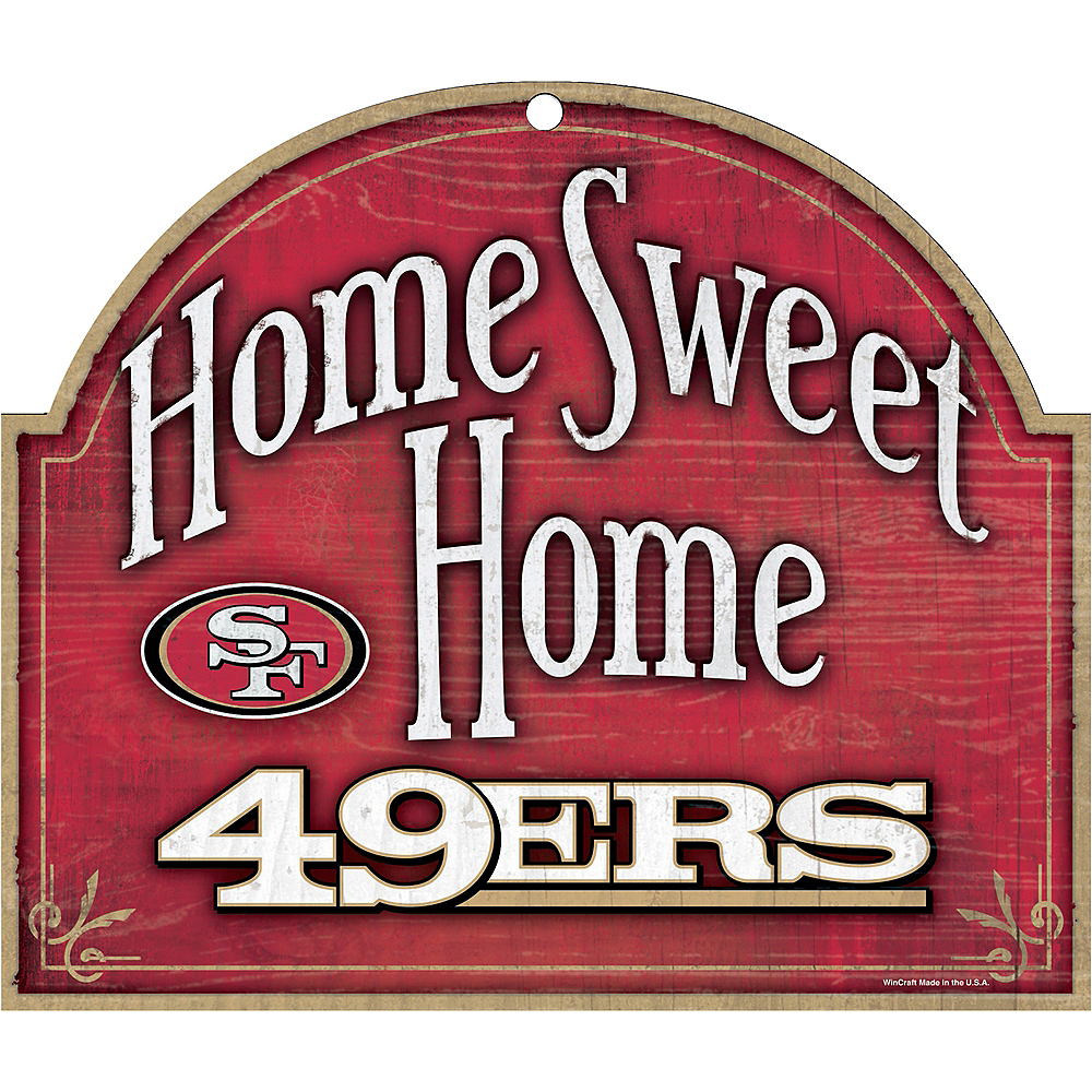 San Francisco 49ers Wooden Sign Image #1