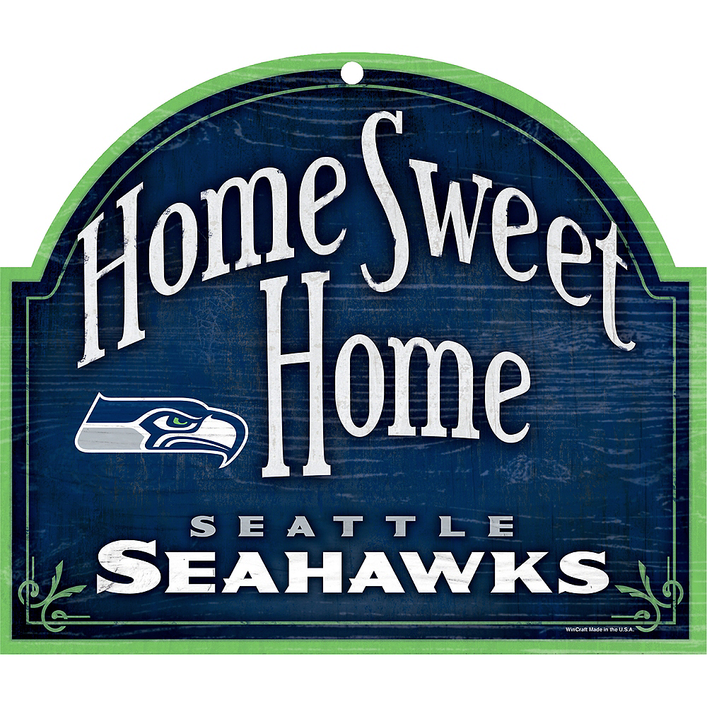 Seattle Seahawks Wooden Sign Image #1