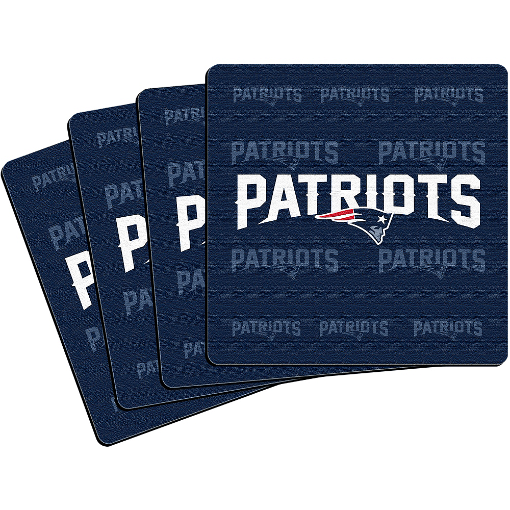 New England Patriots Coasters 4ct Image #1