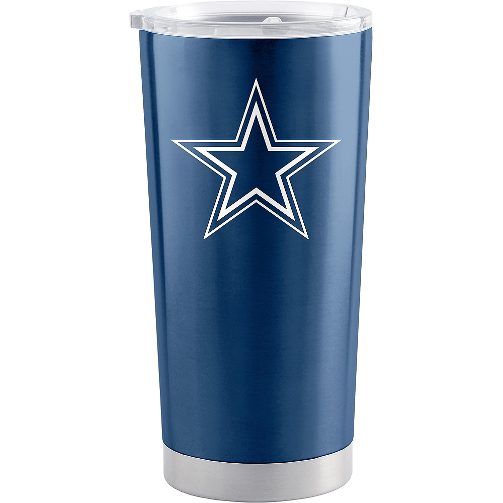 Dallas Cowboys Travel Tumbler Image #1