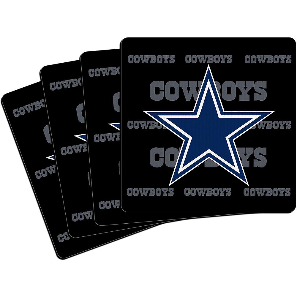 Dallas Cowboys Coasters 4ct Image #1