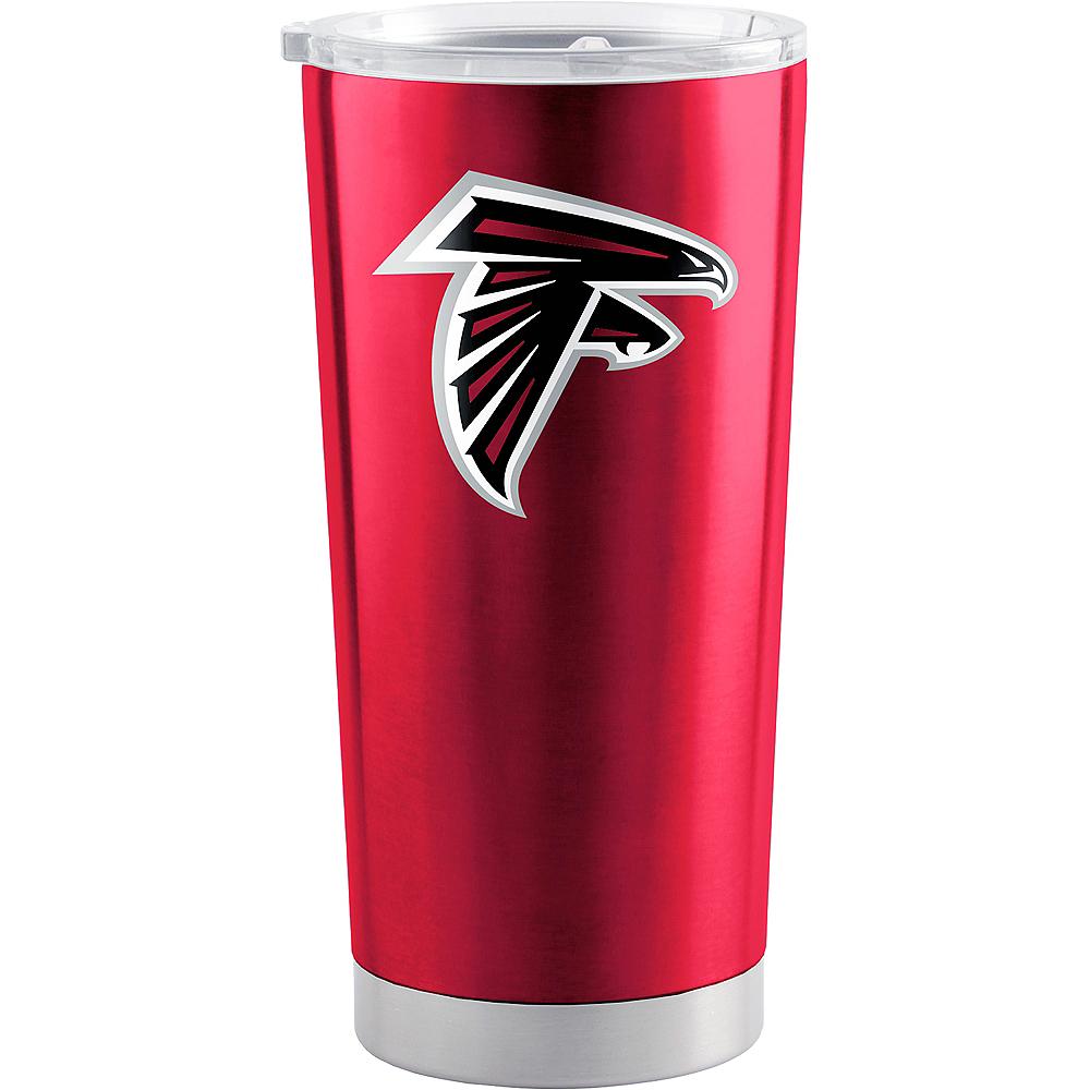 Atlanta Falcons Travel Tumbler Image #1
