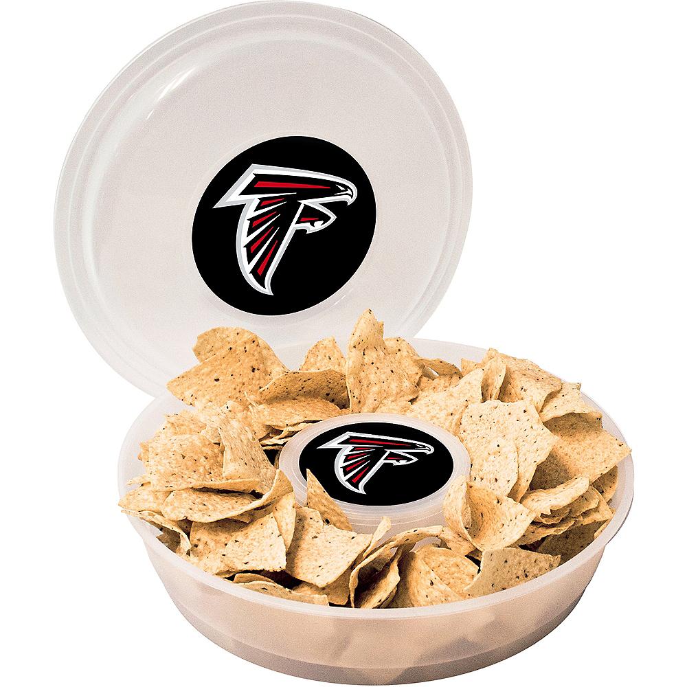 Atlanta Falcons Chip & Dip Tray Image #1