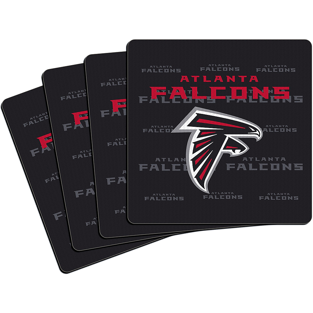 Atlanta Falcons Coasters 4ct Image #1