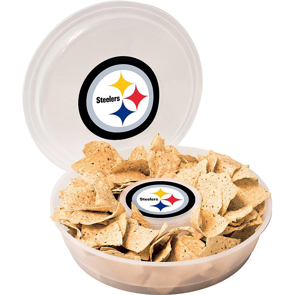 Pittsburgh Steelers Chip & Dip Tray Image #1