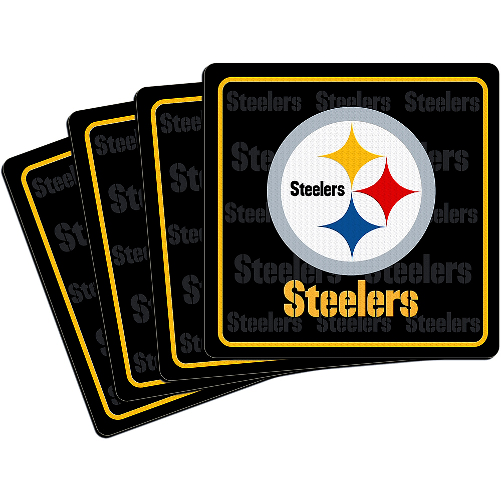 Pittsburgh Steelers Coasters 4ct Image #1