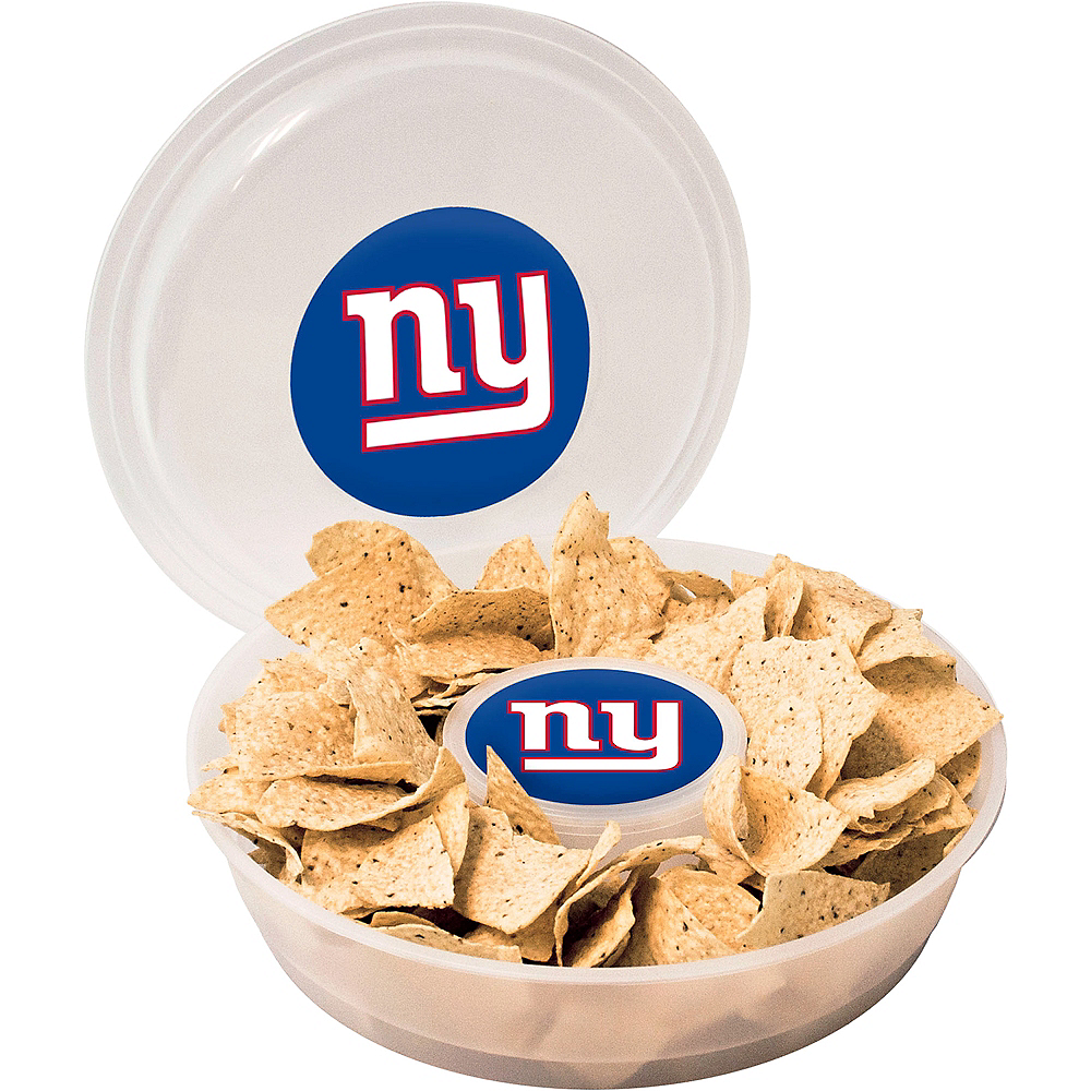 New York Giants Chip & Dip Tray Image #1