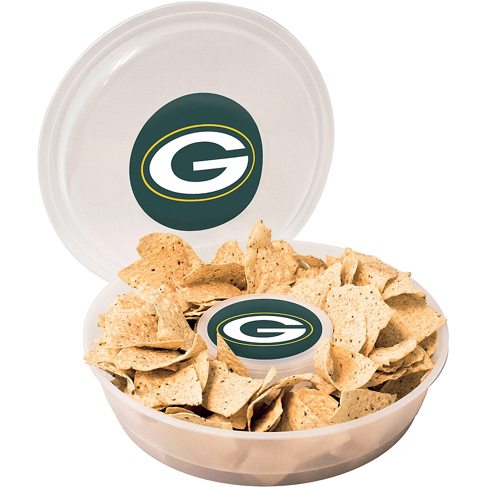 Green Bay Packers Chip & Dip Tray Image #1