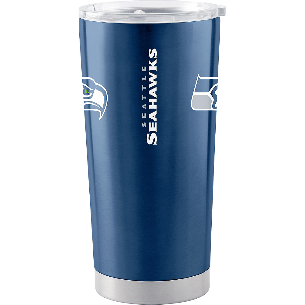 Seattle Seahawks Travel Tumbler Image #2