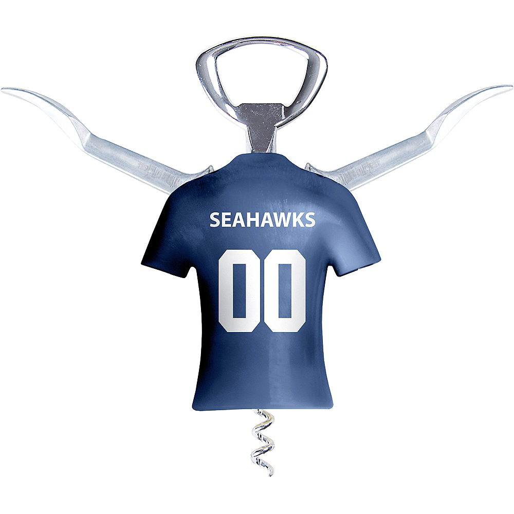 Seattle Seahawks Wine Bottle Opener Image #2