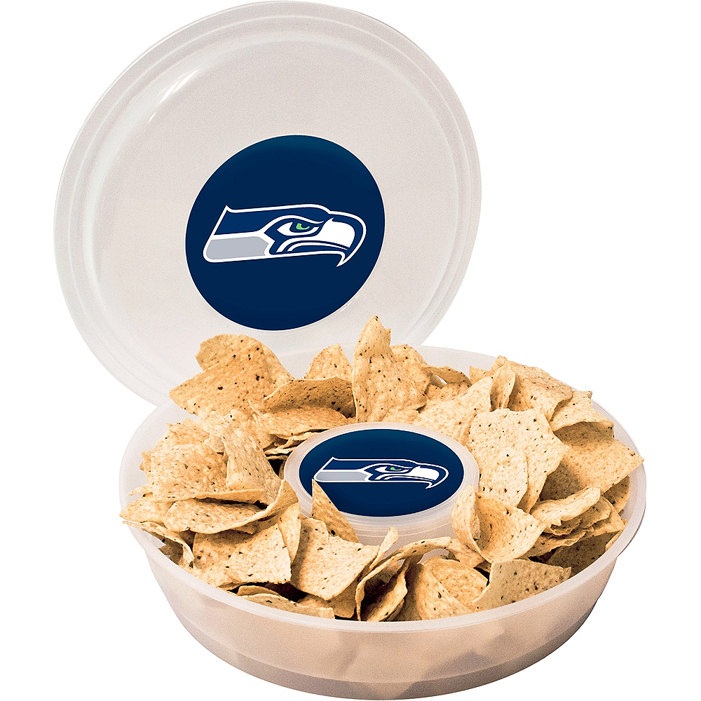 Seattle Seahawks Chip & Dip Tray Image #1