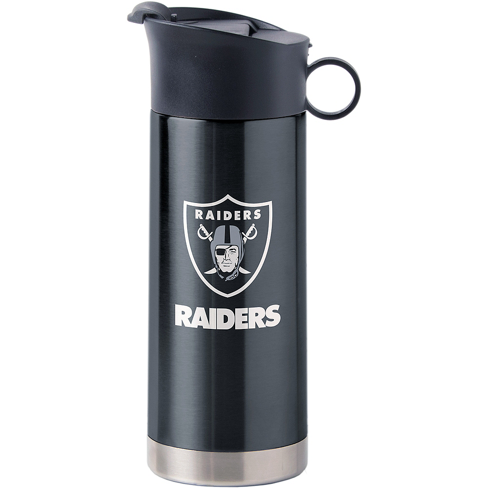 Oakland Raiders Travel Mug Image #1