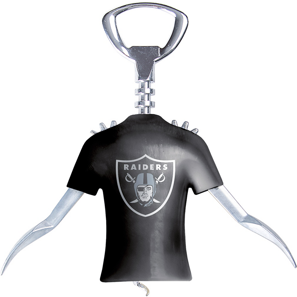 Oakland Raiders Wine Bottle Opener Image #1