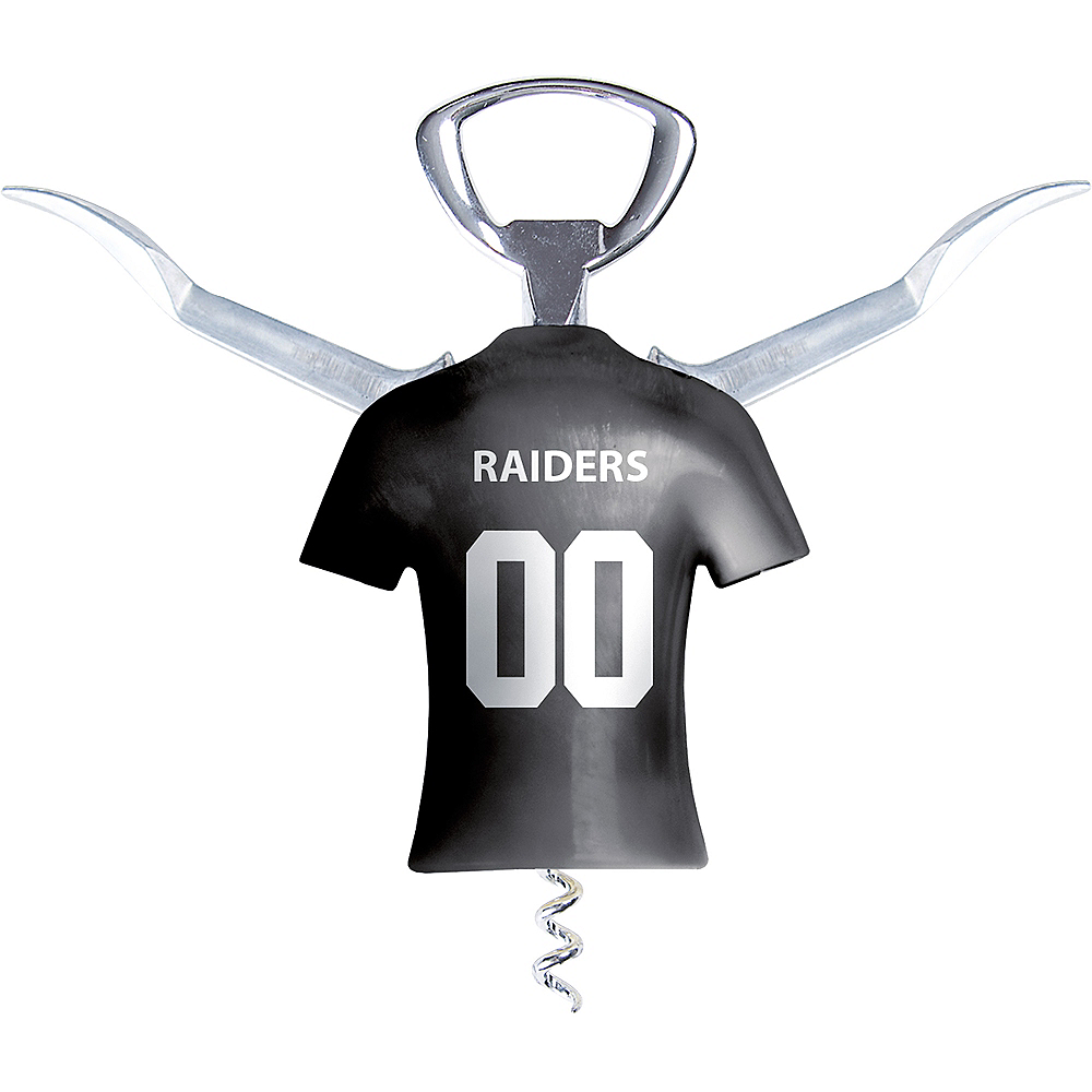 Nav Item for Oakland Raiders Wine Bottle Opener Image #2