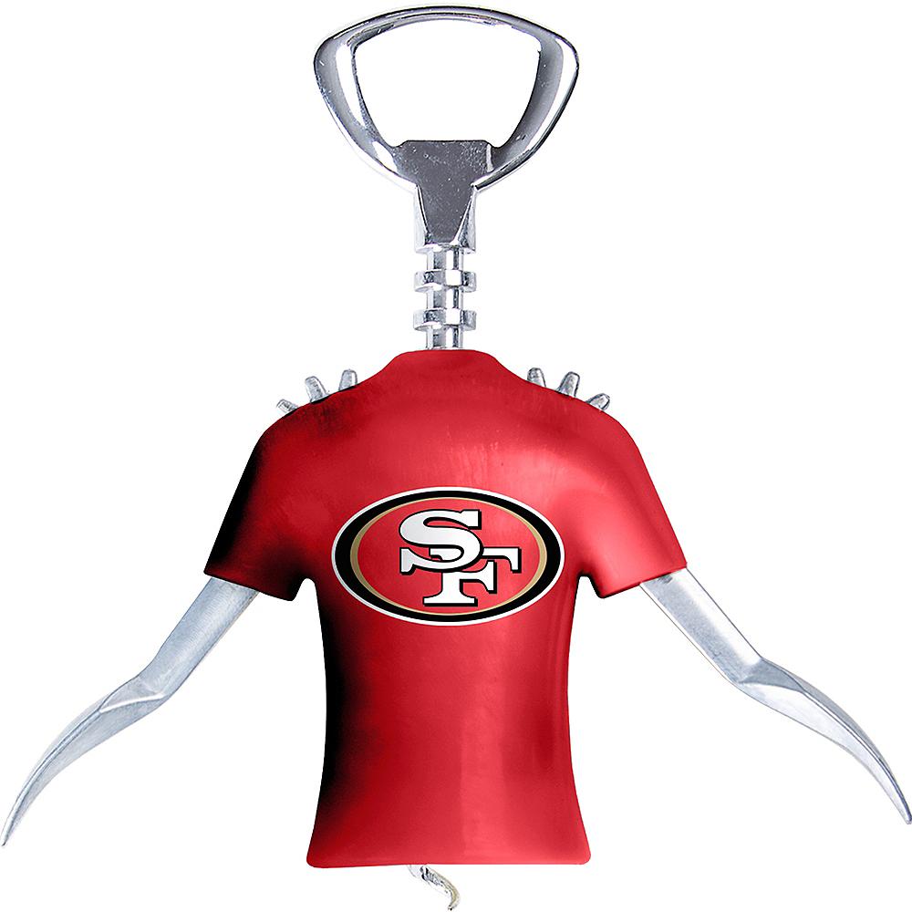 San Francisco 49ers Wine Bottle Opener Image #1