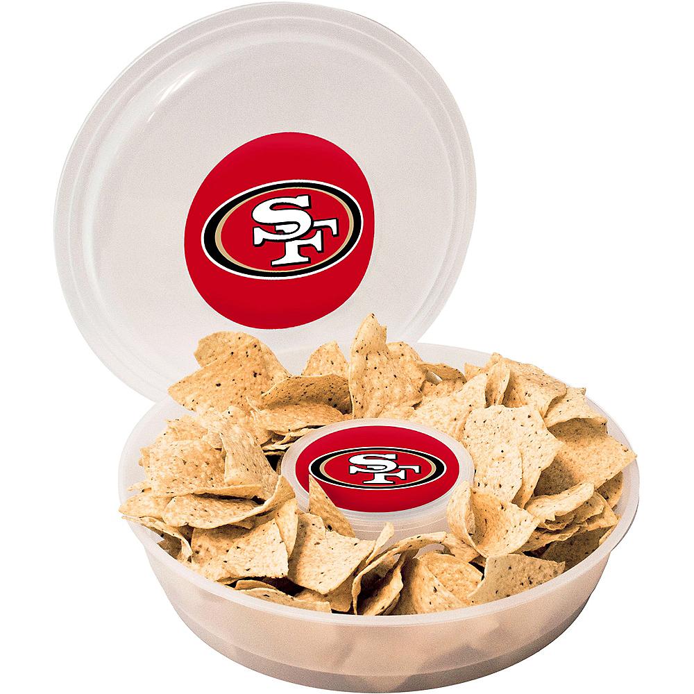 San Francisco 49ers Chip & Dip Tray Image #1