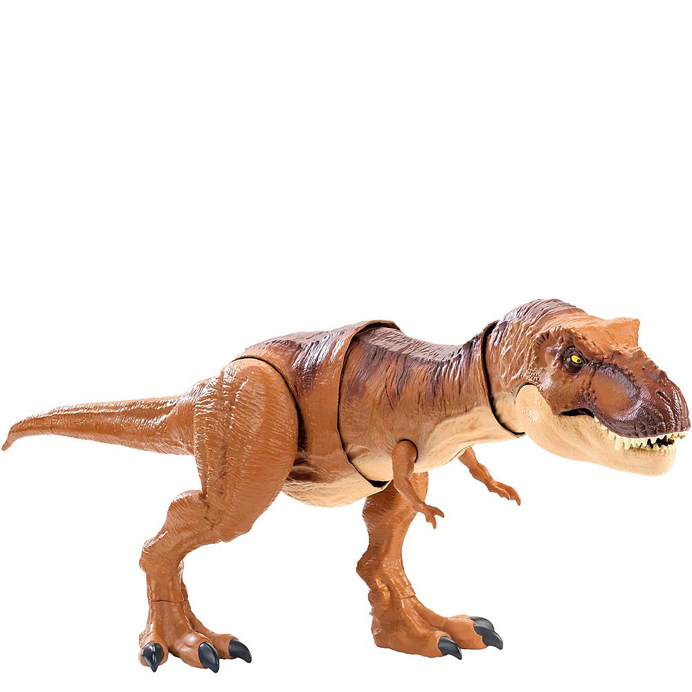 Jurassic World Thrash 'n Throw Tyrannosaurus Rex Image #1