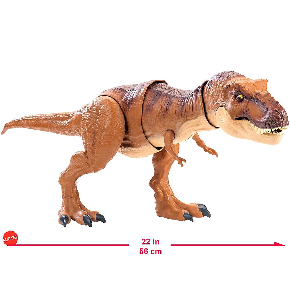 Jurassic World Thrash 'n Throw Tyrannosaurus Rex Image #2