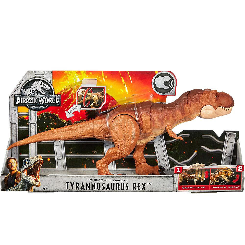 Jurassic World Thrash 'n Throw Tyrannosaurus Rex Image #4