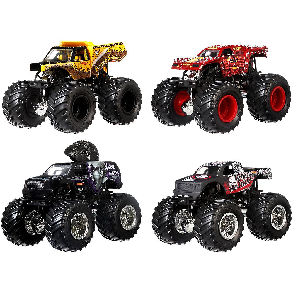 Hot WheelsR Monster JamR Tour FavoritesR 1 Vehicle 4ct